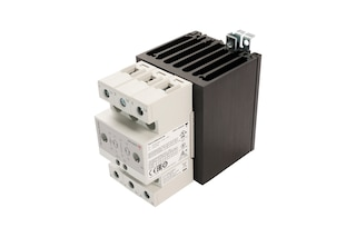 Semiconductor relay, 3 x 600V/40A